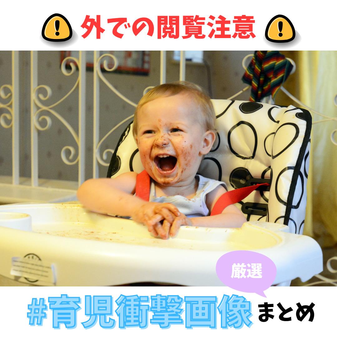 #育児衝撃画像の厳選まとめ